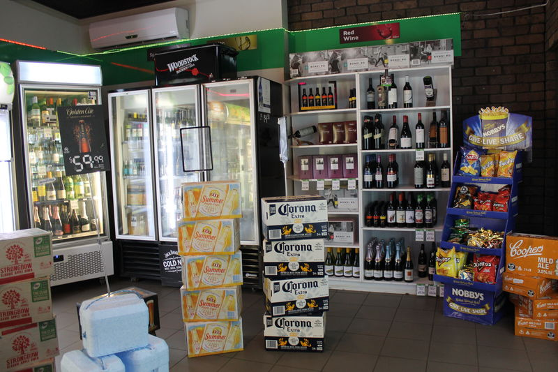 Last bottleshop on the way to Kakadu